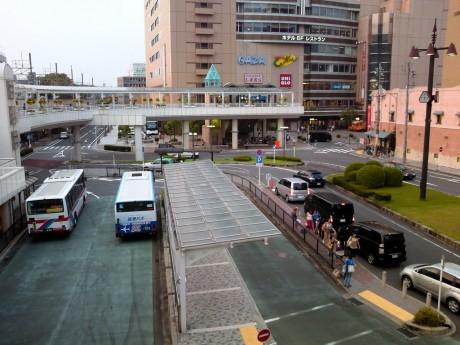 8月16日 豊田市駅前